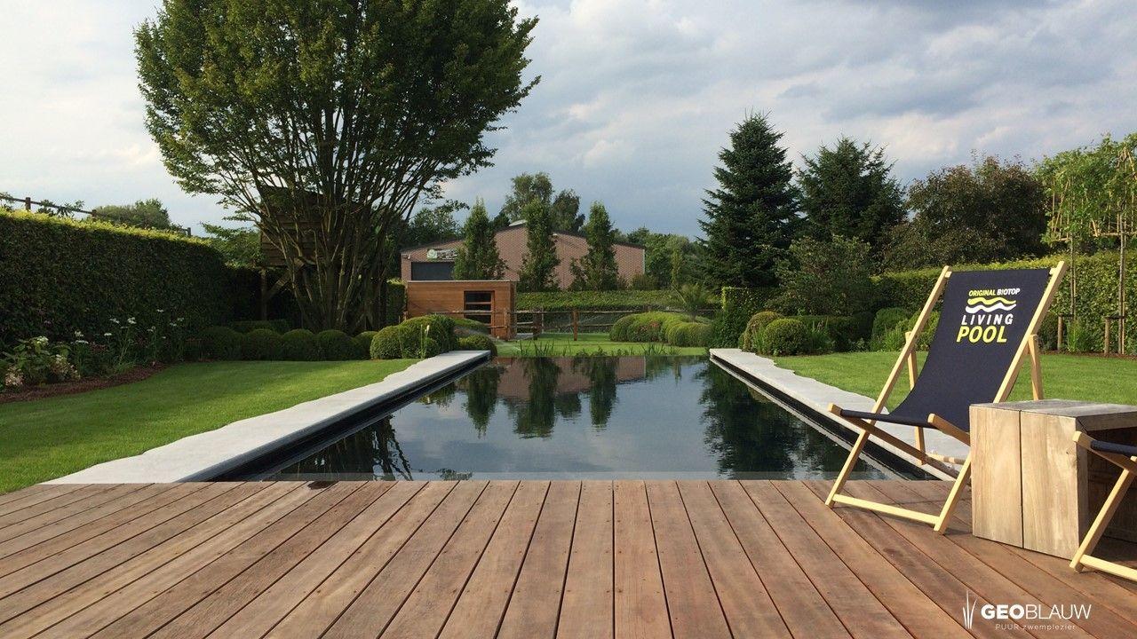 Natuurlijk gezuiverd monoblockzwembad