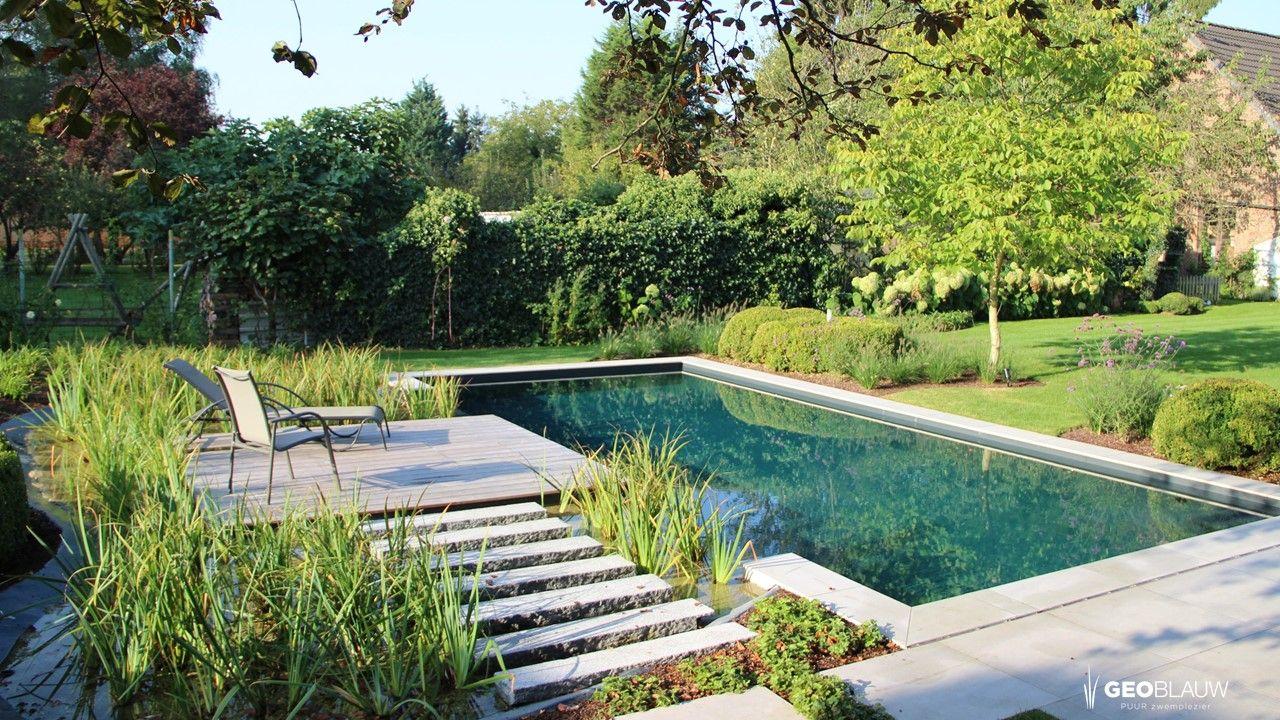 Biologisch polyester zwembad