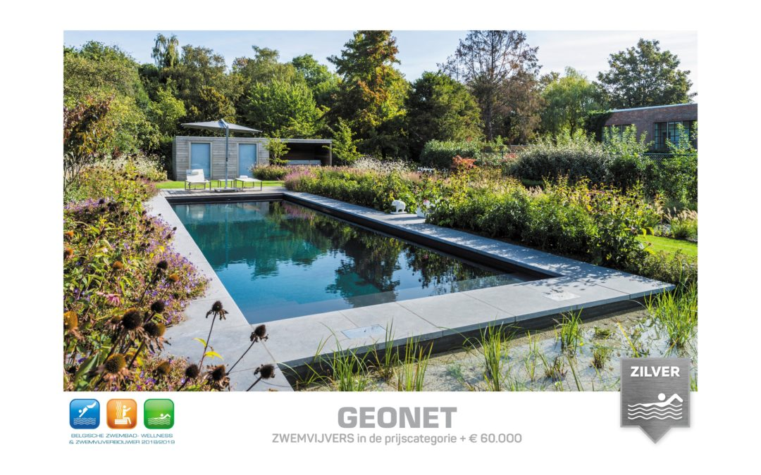 ZILVER beste Belgische zwemvijverbouwer 2018