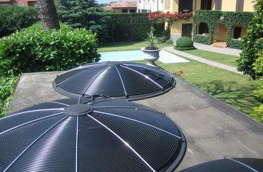 Solar verwarming van Sundisc